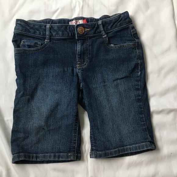 SO Pants - girls jean shorts